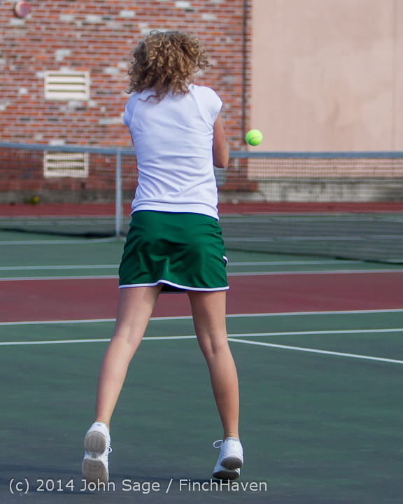 20434 Girls Tennis v CWA 042814