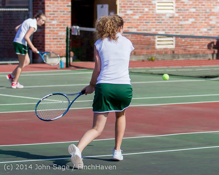 20501 Girls Tennis v CWA 042814