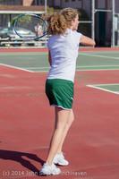 20510 Girls Tennis v CWA 042814