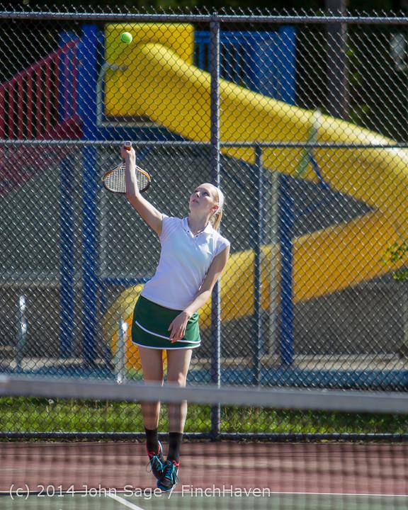 20520 Girls Tennis v CWA 042814