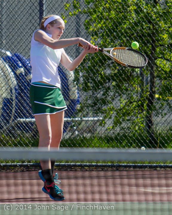 20525 Girls Tennis v CWA 042814