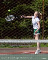 20592 Girls Tennis v CWA 042814