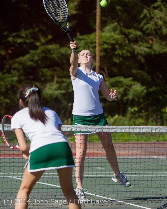 20596 Girls Tennis v CWA 042814