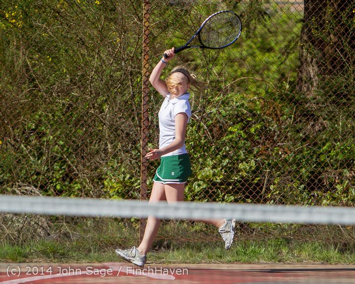 20610 Girls Tennis v CWA 042814