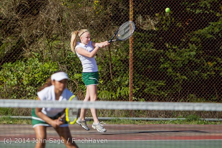 20612 Girls Tennis v CWA 042814