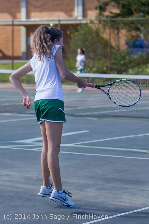 20670 Girls Tennis v CWA 042814