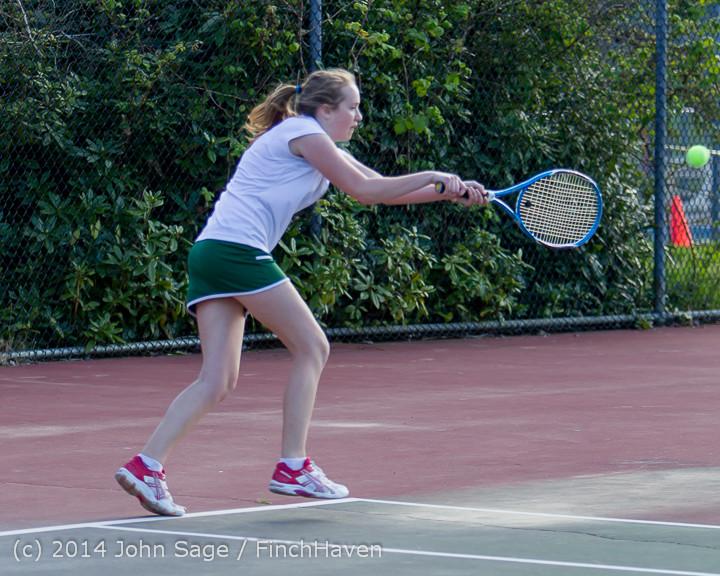 20795 Girls Tennis v CWA 042814