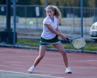 20810 Girls Tennis v CWA 042814