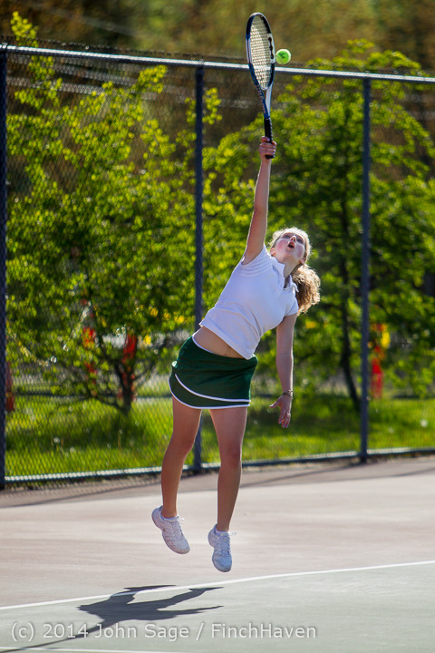 20909 Girls Tennis v CWA 042814