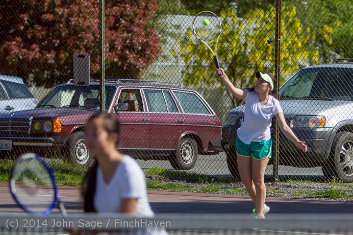 20951 Girls Tennis v CWA 042914