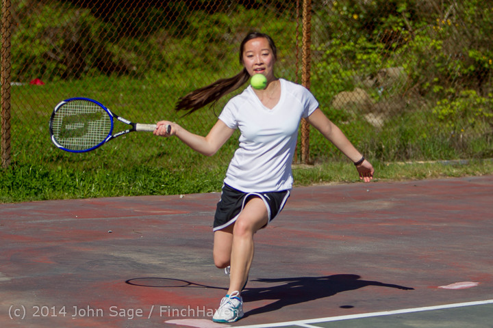 20973 Girls Tennis v CWA 042914