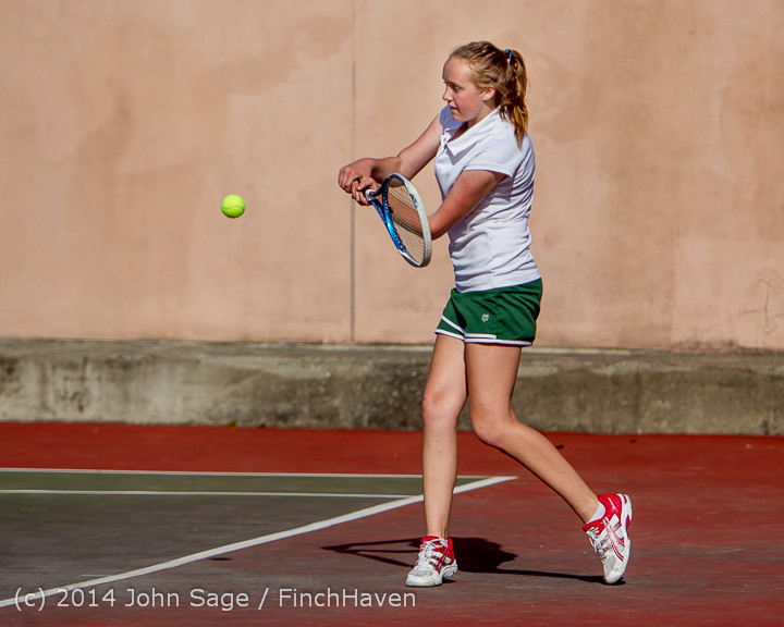 22114 Girls Tennis v CWA 042914