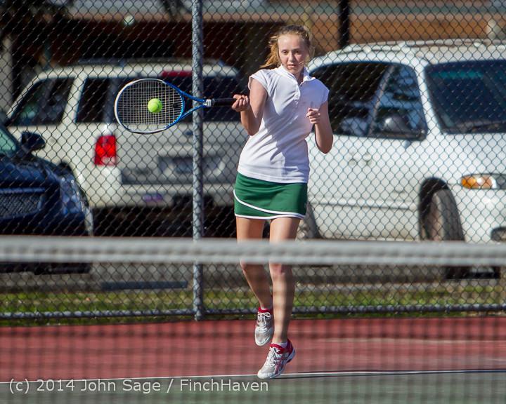 22136 Girls Tennis v CWA 042914