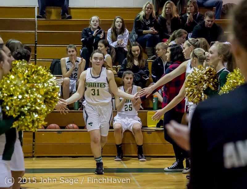 14964 Girls Varsity Basketball v Klahowya 120915