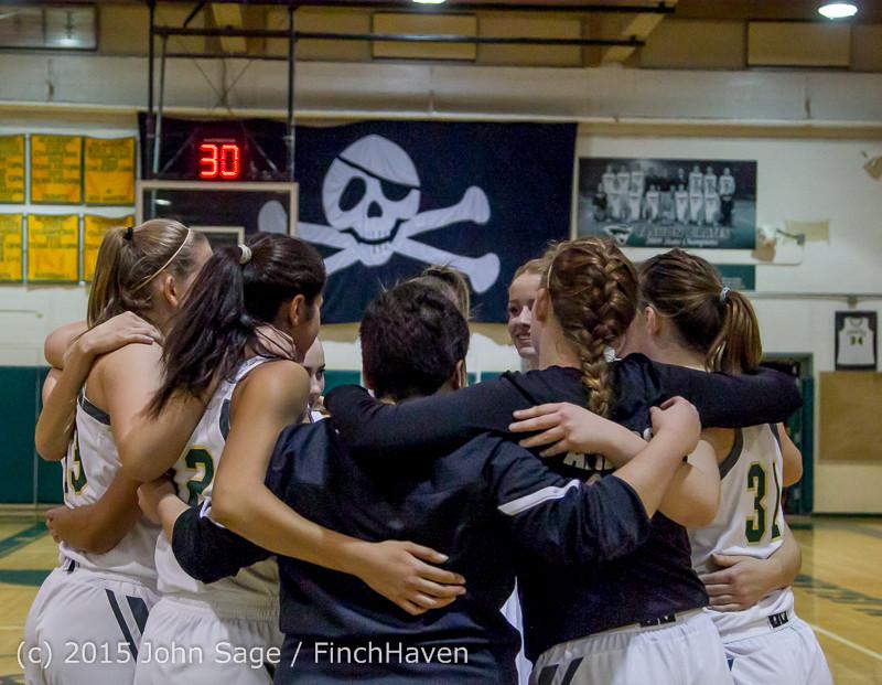 14992 Girls Varsity Basketball v Klahowya 120915