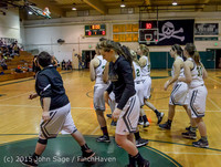 15007 Girls Varsity Basketball v Klahowya 120915