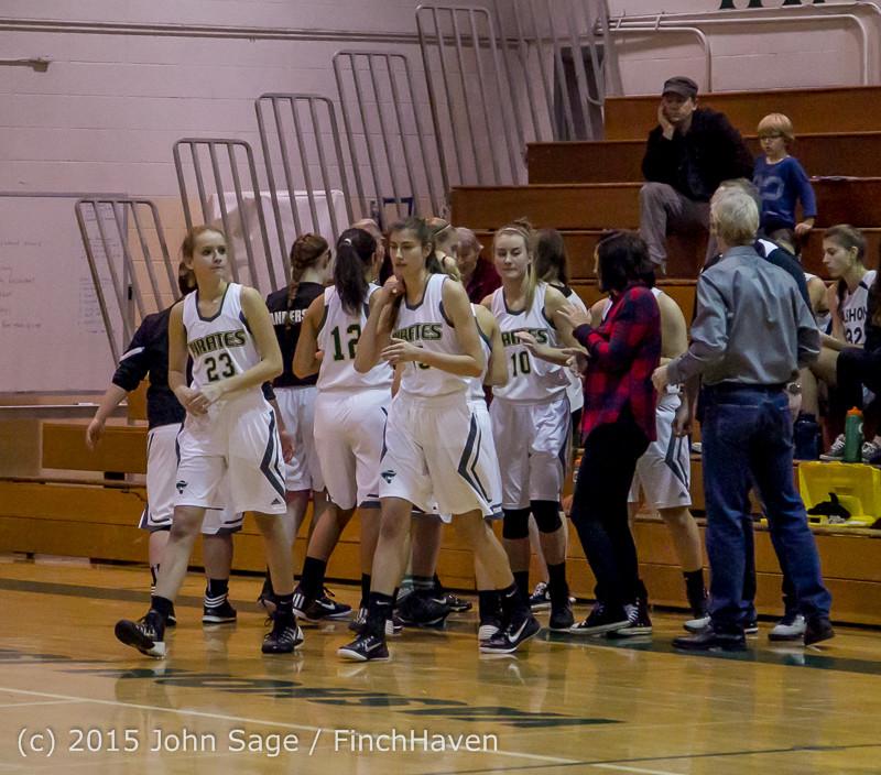 15027 Girls Varsity Basketball v Klahowya 120915