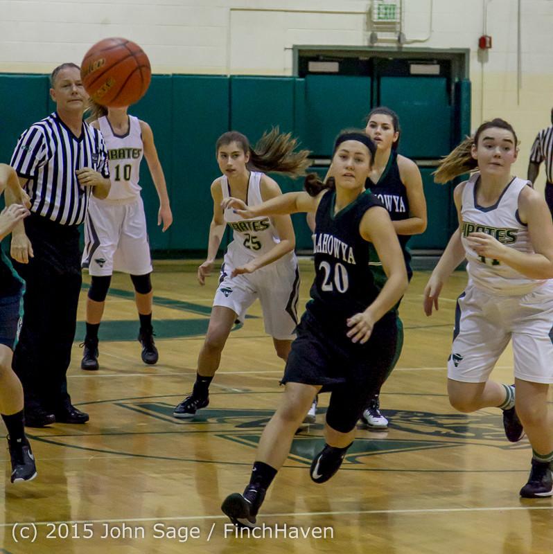 15042 Girls Varsity Basketball v Klahowya 120915