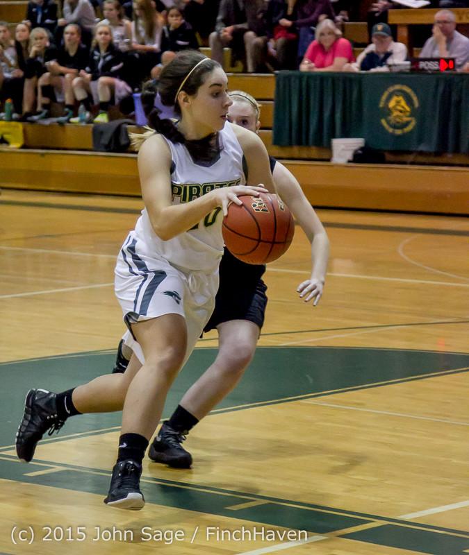 15046 Girls Varsity Basketball v Klahowya 120915