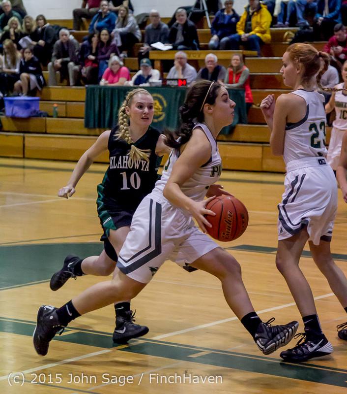 15048 Girls Varsity Basketball v Klahowya 120915
