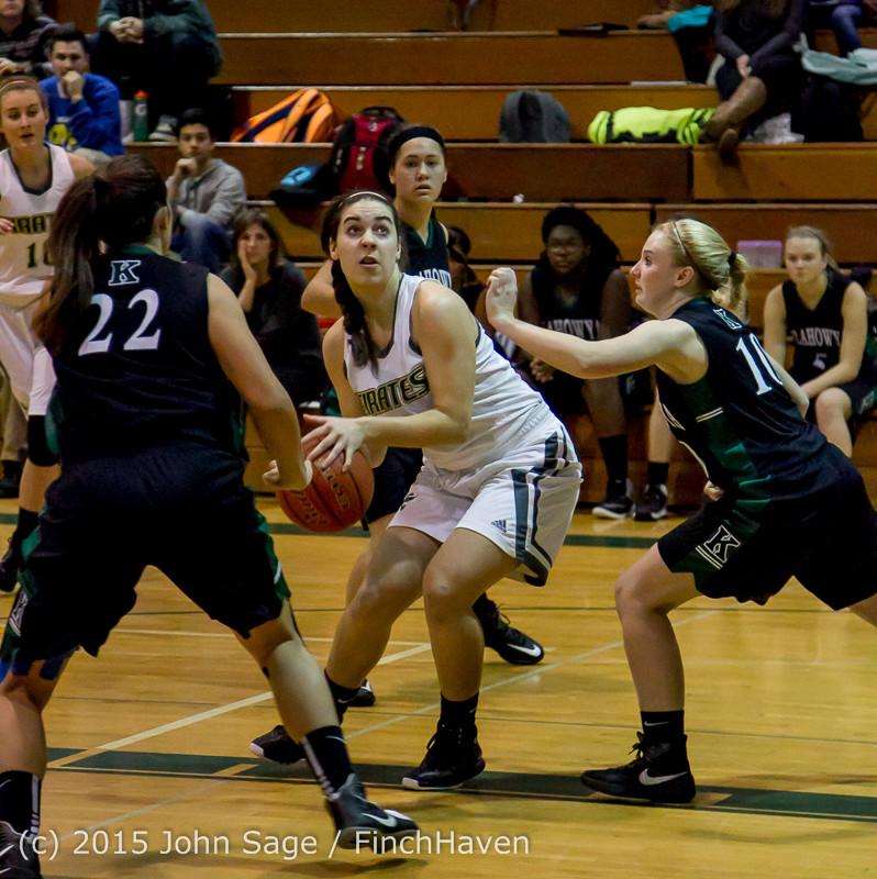 15095 Girls Varsity Basketball v Klahowya 120915