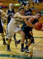 15107 Girls Varsity Basketball v Klahowya 120915