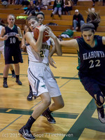 15111 Girls Varsity Basketball v Klahowya 120915