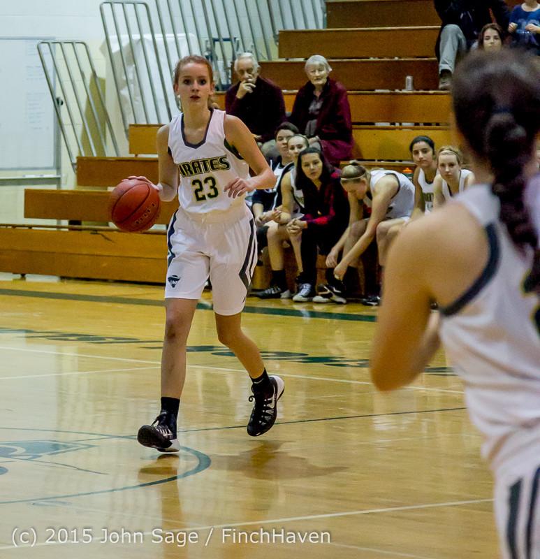 15135 Girls Varsity Basketball v Klahowya 120915