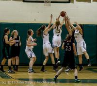 15209 Girls Varsity Basketball v Klahowya 120915