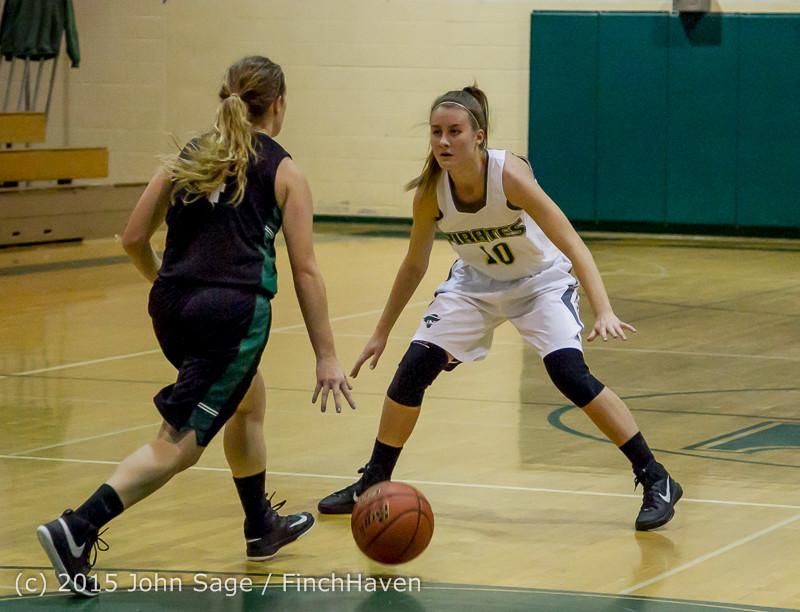 15242 Girls Varsity Basketball v Klahowya 120915