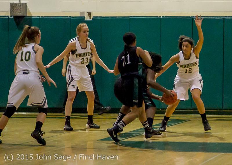 15251 Girls Varsity Basketball v Klahowya 120915
