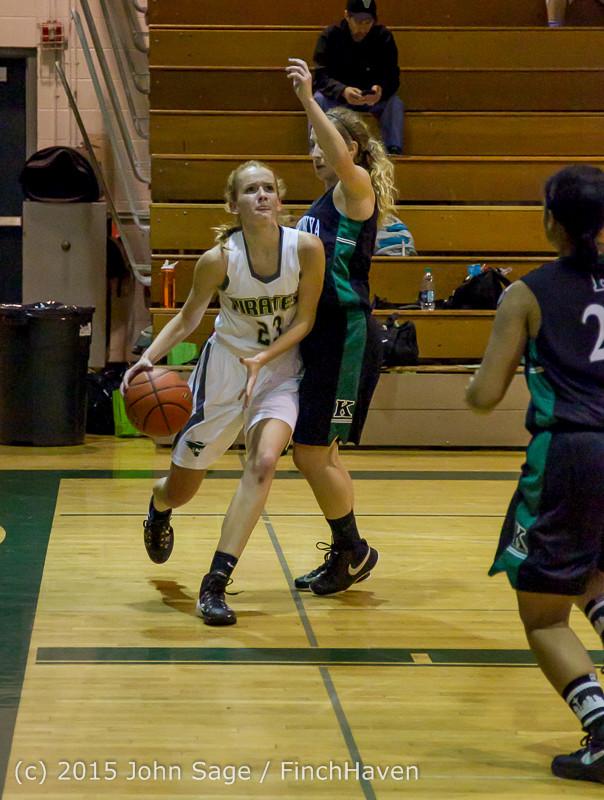 15256 Girls Varsity Basketball v Klahowya 120915