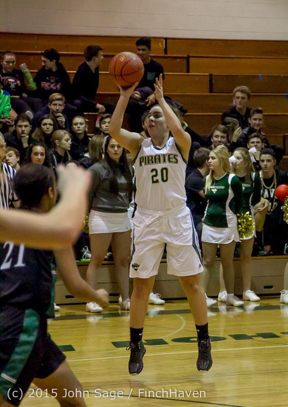 15268 Girls Varsity Basketball v Klahowya 120915