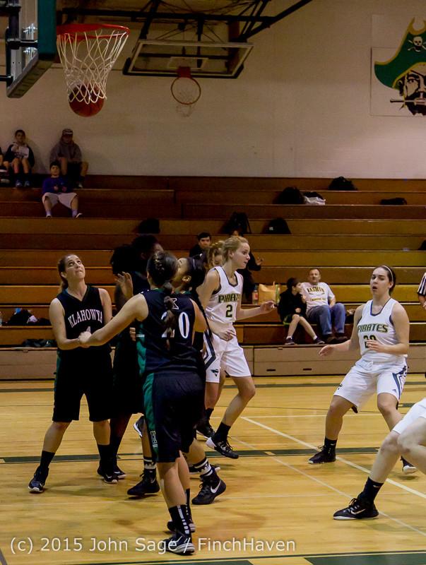 15297 Girls Varsity Basketball v Klahowya 120915