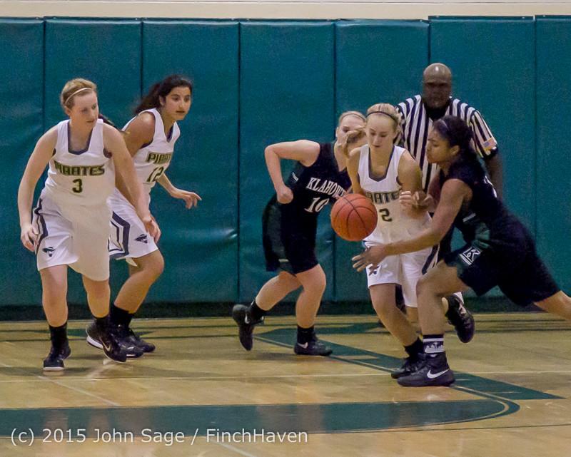 15345 Girls Varsity Basketball v Klahowya 120915