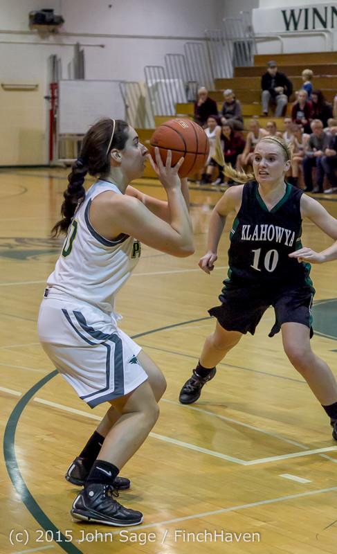 15377 Girls Varsity Basketball v Klahowya 120915