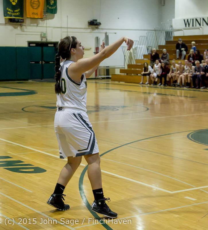 15388 Girls Varsity Basketball v Klahowya 120915
