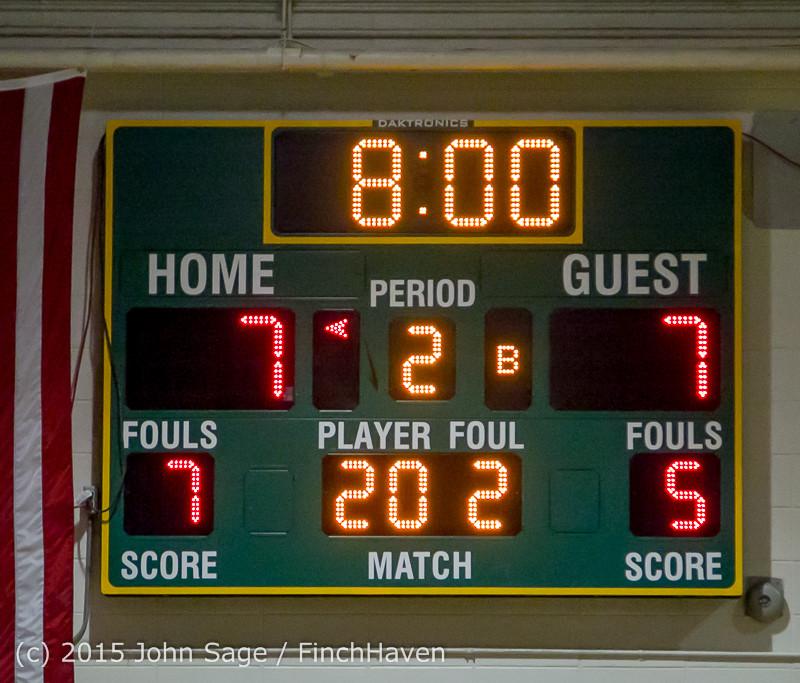15407 Girls Varsity Basketball v Klahowya 120915