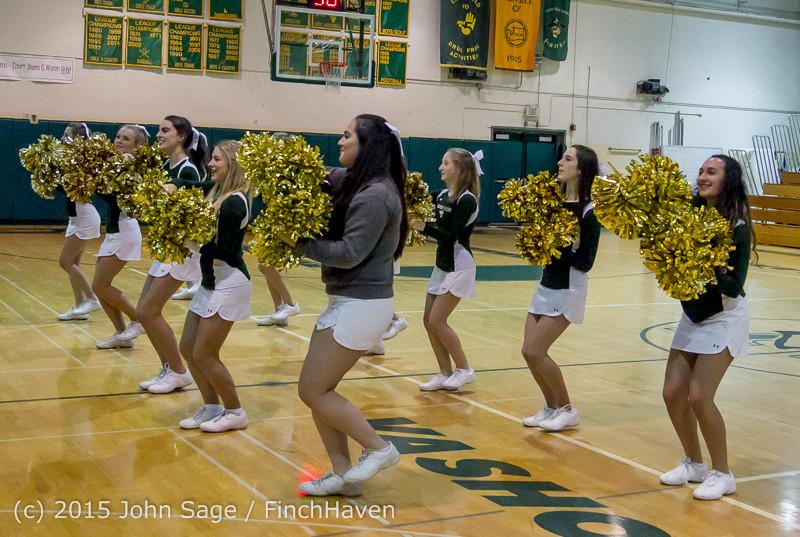 15437 Girls Varsity Basketball v Klahowya 120915