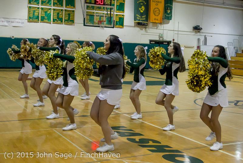 15441 Girls Varsity Basketball v Klahowya 120915