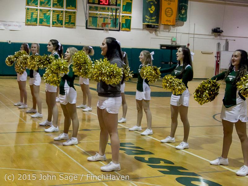 15447 Girls Varsity Basketball v Klahowya 120915