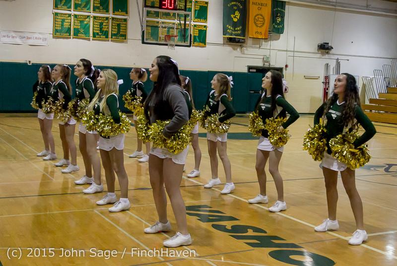 15452 Girls Varsity Basketball v Klahowya 120915
