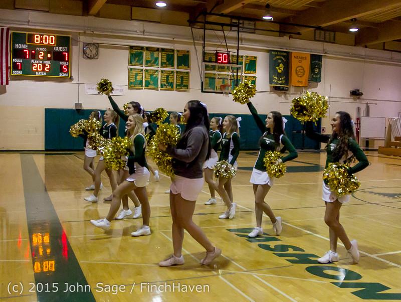 15465 Girls Varsity Basketball v Klahowya 120915