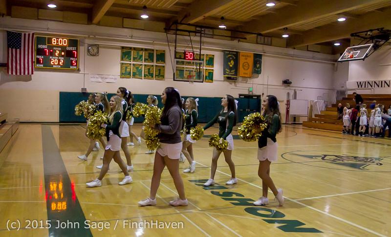 15467 Girls Varsity Basketball v Klahowya 120915