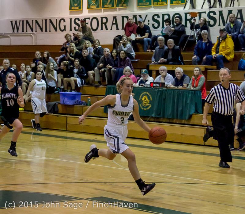15537 Girls Varsity Basketball v Klahowya 120915