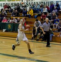 15539 Girls Varsity Basketball v Klahowya 120915