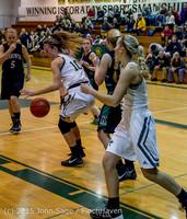 15564 Girls Varsity Basketball v Klahowya 120915