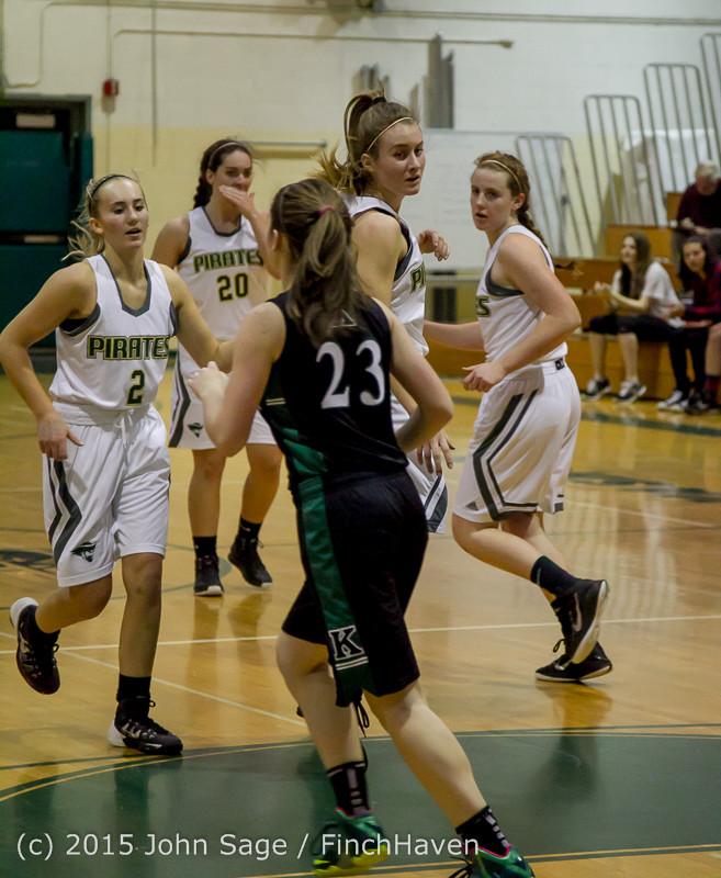 15576 Girls Varsity Basketball v Klahowya 120915