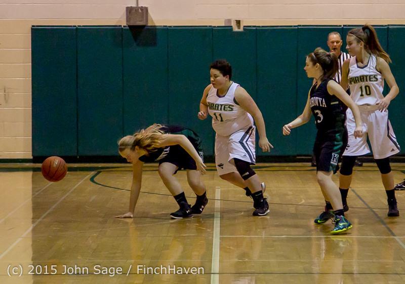 15613 Girls Varsity Basketball v Klahowya 120915