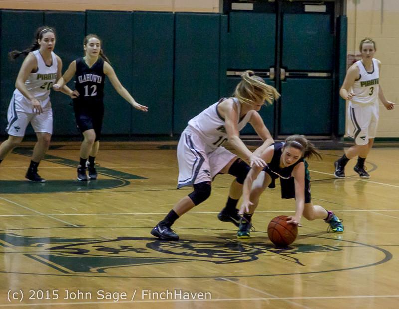 15619 Girls Varsity Basketball v Klahowya 120915